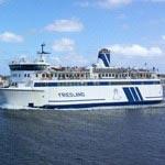 Veerboot Ms. Friesland van Rederij Doeksen naar Terschelling