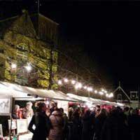 Kerstmarkt in Oosterend